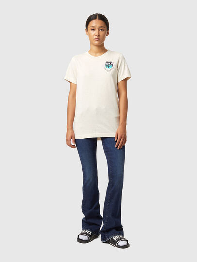 Diesel - T-LILLY-B1, Weiß - T-Shirts - Image 4