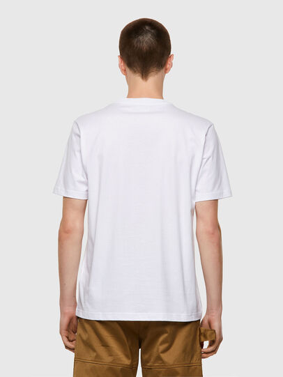 Diesel - T-JUST-B53, Weiß - T-Shirts - Image 2