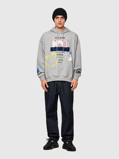 Diesel - S-UMMER-B4, Grau - Sweatshirts - Image 4