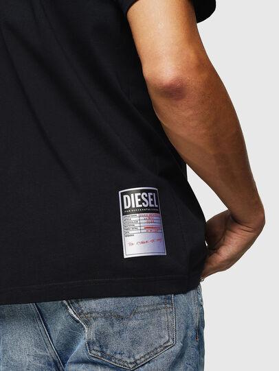 Diesel - T-JUST-B26, Schwarz - T-Shirts - Image 3