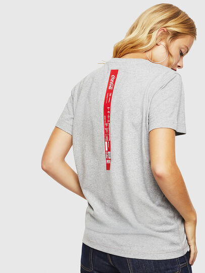 Diesel - CC-T-DIEGO-COLA, Grau - T-Shirts - Image 4