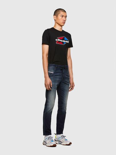 Diesel - KROOLEY JoggJeans® 069QD, Dunkelblau - Jeans - Image 5