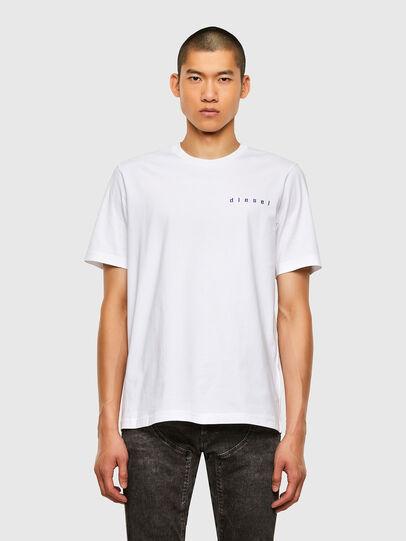 Diesel - T-JUST-N44, Weiß - T-Shirts - Image 1