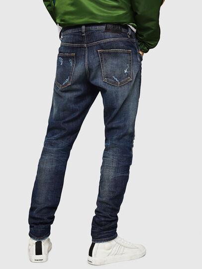 Diesel - D-Strukt 0890W, Dunkelblau - Jeans - Image 2