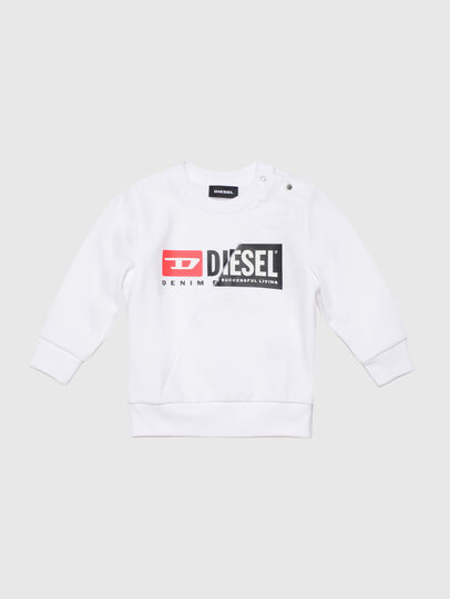Diesel - SGIRKCUTYB, Weiß - Sweatshirts - Image 1