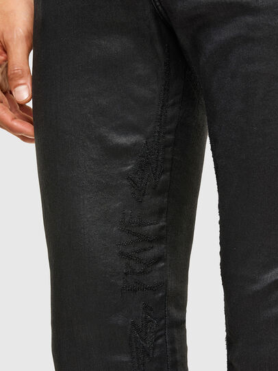 Diesel - D-Reeft JoggJeans® 069TE, Schwarz/Dunkelgrau - Jeans - Image 5