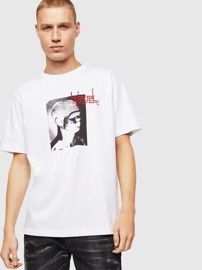 Diesel - T-JUST-J21, Weiß - T-Shirts - Image 1