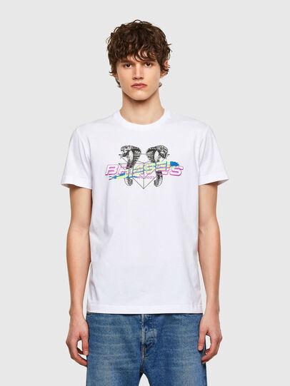 Diesel - T-DIEGOS-E35, Weiß - T-Shirts - Image 1