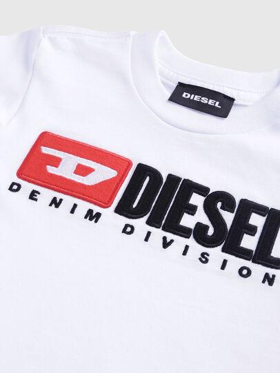 Diesel - TJUSTDIVISIONB, Weiß - T-Shirts und Tops - Image 3