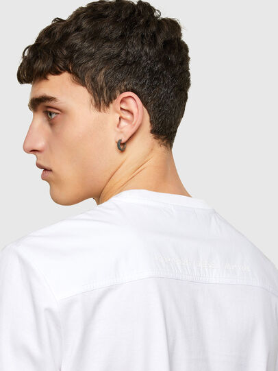 Diesel - T-WORKAN, Weiß - T-Shirts - Image 4