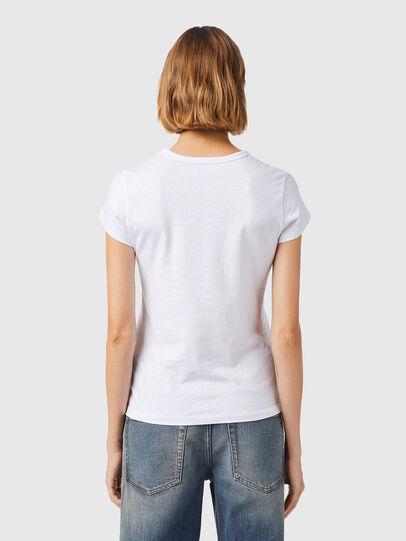 Diesel - T-SLICUP-B3, Weiß - T-Shirts - Image 2