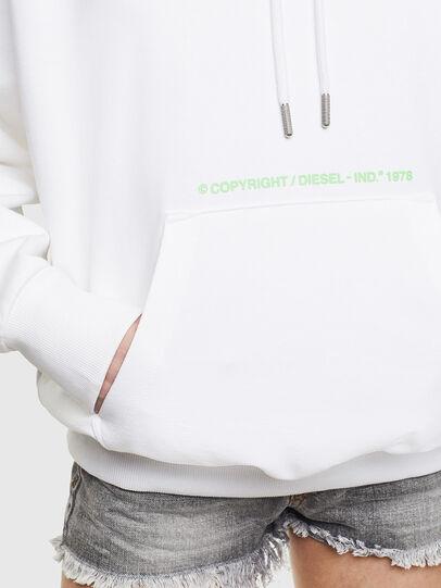 Diesel - S-ALBY-S2, Weiß - Sweatshirts - Image 6