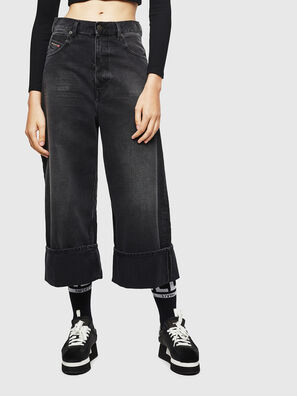 D-Luite 083AK, Schwarz/Dunkelgrau - Jeans