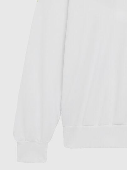 Diesel - S-GIR-DIVISION-LOGO, Weiß - Sweatshirts - Image 5