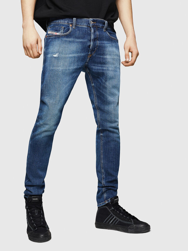 Diesel - Tepphar 0870H, Mittelblau - Jeans - Image 1