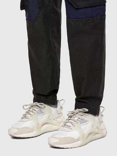 Diesel - D-Eluxerr JoggJeans® 0DDAV, Schwarz/Dunkelgrau - Jeans - Image 5
