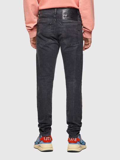 Diesel - D-Amny JoggJeans® 09A74, Schwarz/Dunkelgrau - Jeans - Image 2