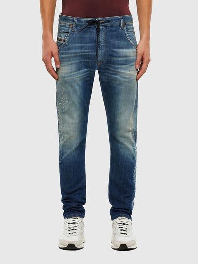 Diesel - Krooley JoggJeans 009NK, Mittelblau - Jeans - Image 1