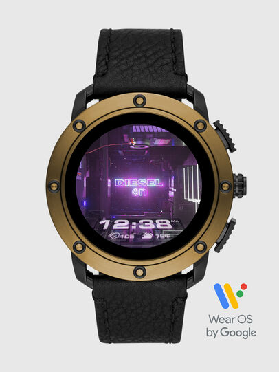 Diesel - DT2016, Schwarz/Bronze - Smartwatches - Image 1