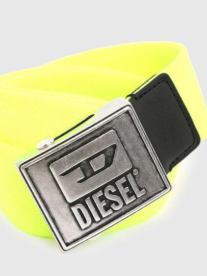 Diesel - B-METALTAPE, Gelb - Gürtel - Image 2