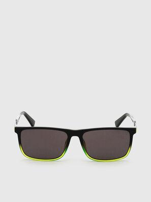 DL0312, Schwarz/Gelb - Sonnenbrille