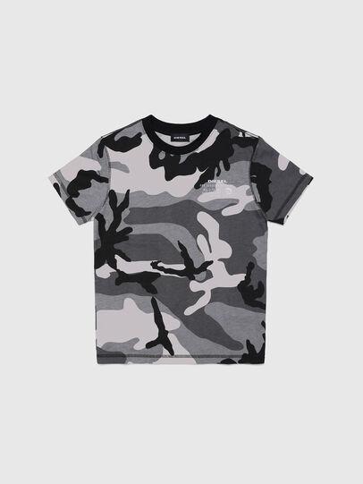 Diesel - UMLT-TDIEGOS-CF, Grau - T-Shirts und Tops - Image 1