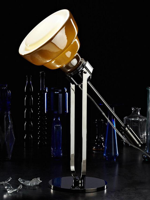 Diesel - GLAS TAVOLO CROMO, Silber - Tischlampen - Image 2
