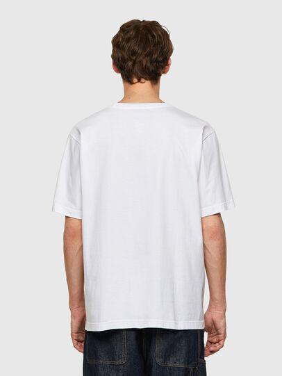 Diesel - T-TUBOLAR-B2, Weiß - T-Shirts - Image 2