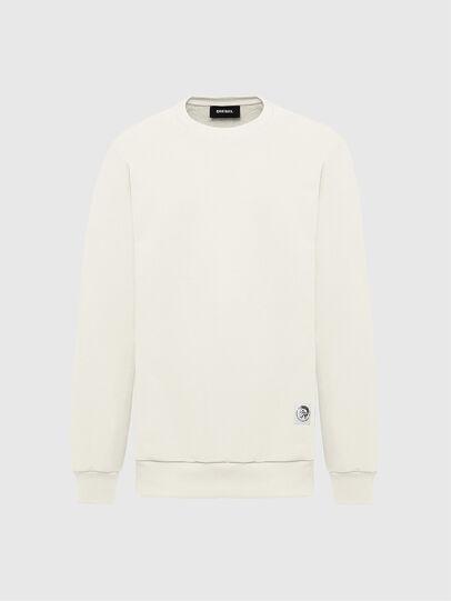 Diesel - S-GIRK-MOHI, Weiß - Sweatshirts - Image 1