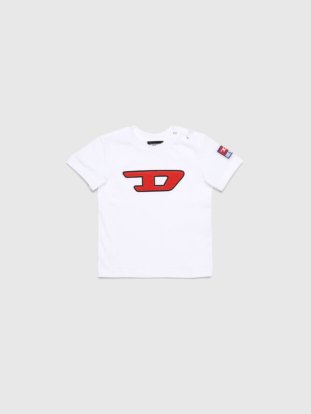 TJUSTDIVISIONB-D, Weiß - T-Shirts und Tops