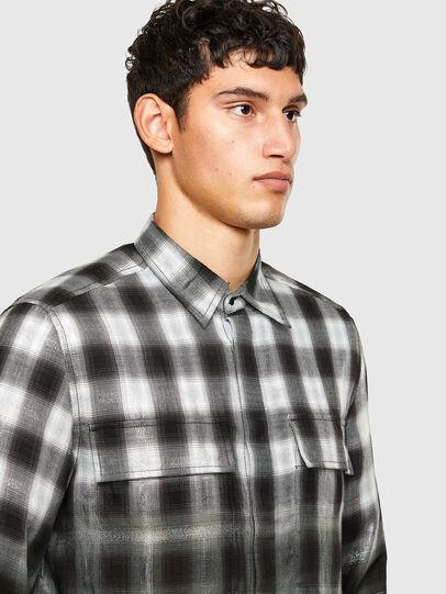 Diesel - S-KEITH, Schwarz/Weiss - Hemden - Image 3