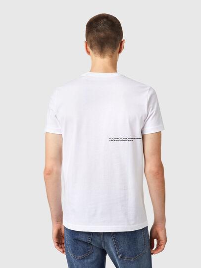 Diesel - T-DIEGOS-B21, Weiß - T-Shirts - Image 2