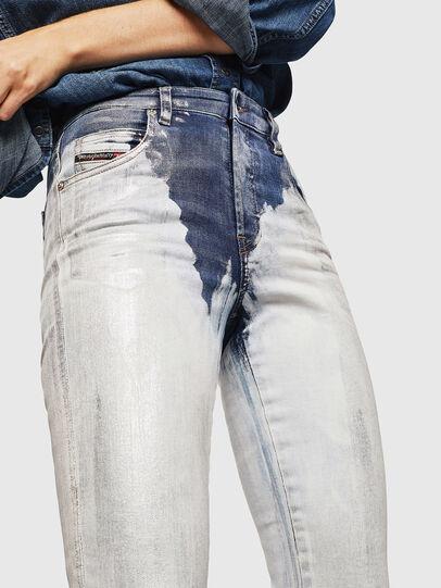 Diesel - Babhila 0094W, Mittelblau - Jeans - Image 3