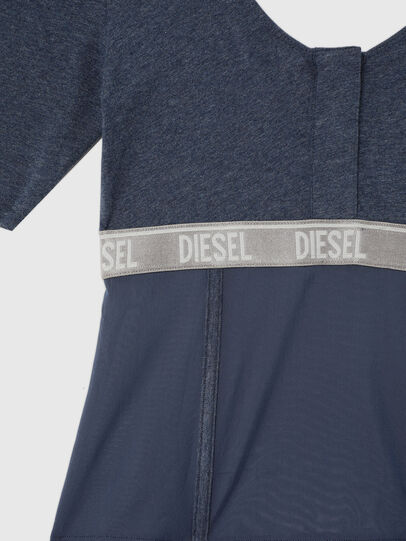 Diesel - UFTEE-TOPCUT-DN, Blau - T-Shirts - Image 3