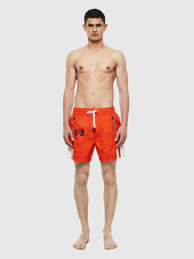BMBX-WAVE-E42, Orange - Boxershorts