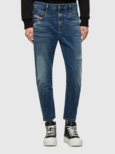 Diesel - Fayza JoggJeans® 069SZ, Dunkelblau - Jeans - Image 1