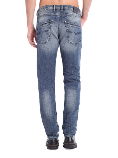 Diesel - Krayver 0833S, Jeansblau - Jeans - Image 4