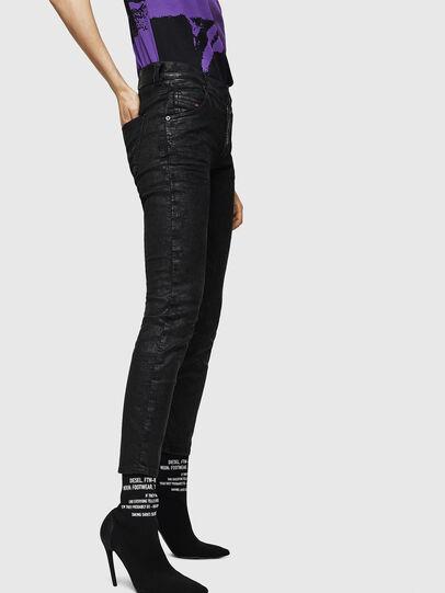 Diesel - Krailey JoggJeans 084AG, Schwarz/Dunkelgrau - Jeans - Image 5