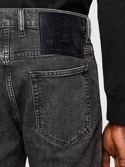 Diesel - D-Vider 009QZ, Schwarz/Dunkelgrau - Jeans - Image 4