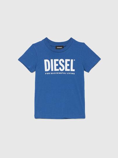 Diesel - TJUSTLOGOB-R, Blau - T-Shirts und Tops - Image 1