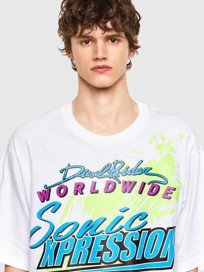Diesel - T-DELPHONE, Weiß - T-Shirts - Image 3