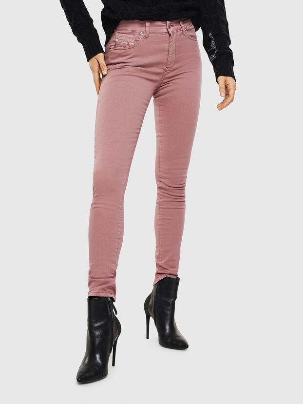 D-Roisin 0096H, Fuchsie - Jeans