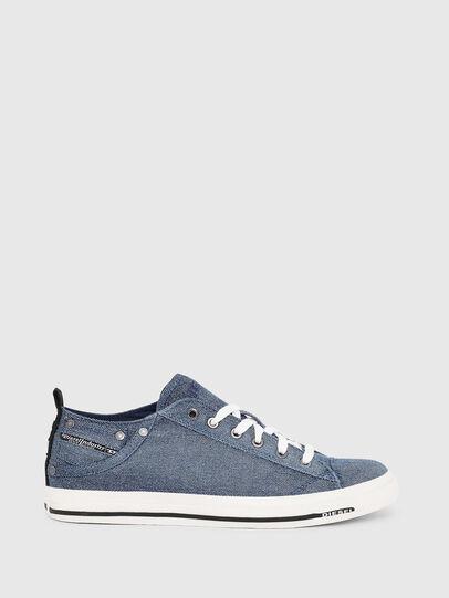 Diesel - EXPOSURE LOW I, Jeansblau - Sneakers - Image 1