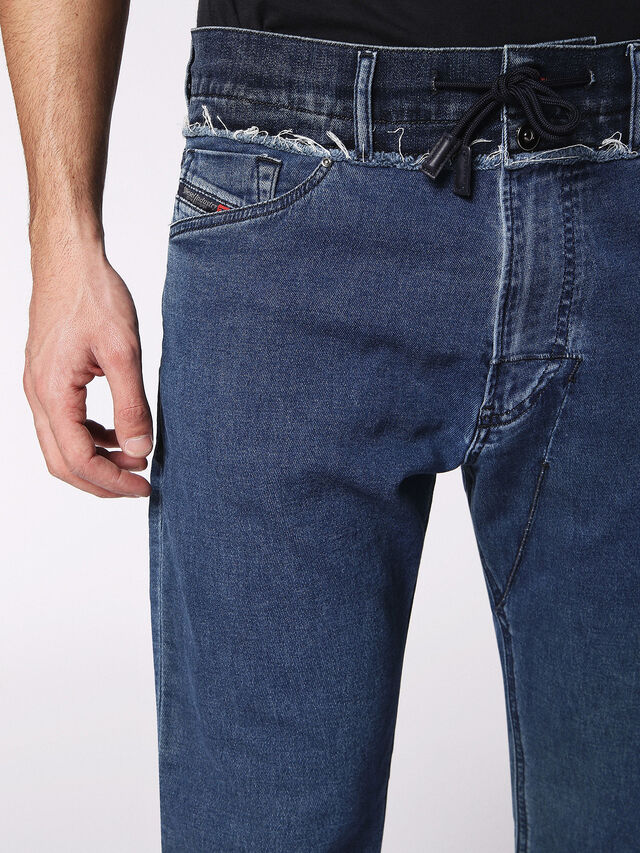 NARROT CBW JOGGJEANS 084PS, Jeansblau
