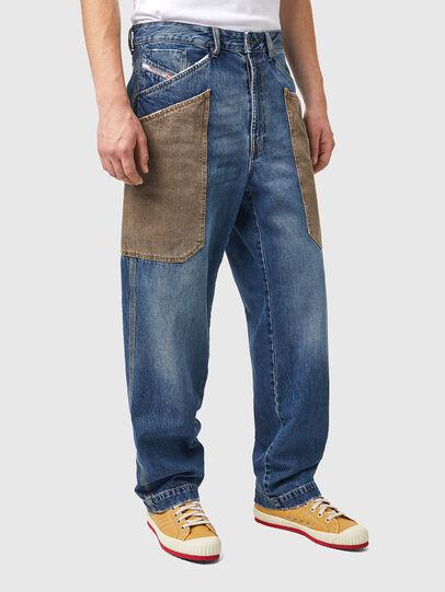 Diesel - D-Franky 0GCAY, Mittelblau - Jeans - Image 3