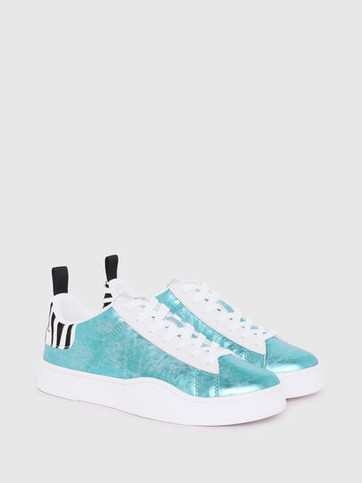 Diesel - S-CLEVER LOW LACE W, Azurblau - Sneakers - Image 2