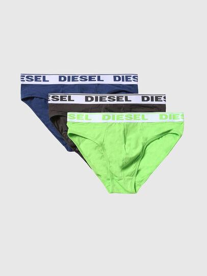 Diesel - UMBR-ANDRETHREEPACK, Neongrün - Slips - Image 1