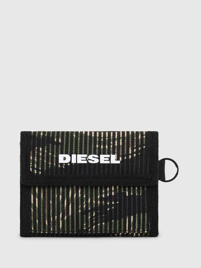 Diesel - YOSHI, Schwarz/Grün - Kleine Portemonnaies - Image 1