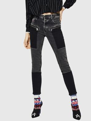 Babhila 0890T, Schwarz/Dunkelgrau - Jeans