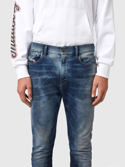 Diesel - D-Amny JoggJeans® 069XE, Dunkelblau - Jeans - Image 3